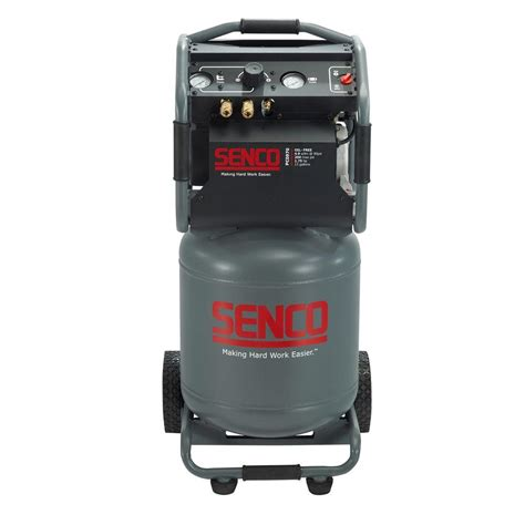 senco 15 gal 1 75 hp vertical electric air compressor pc0970 the home depot