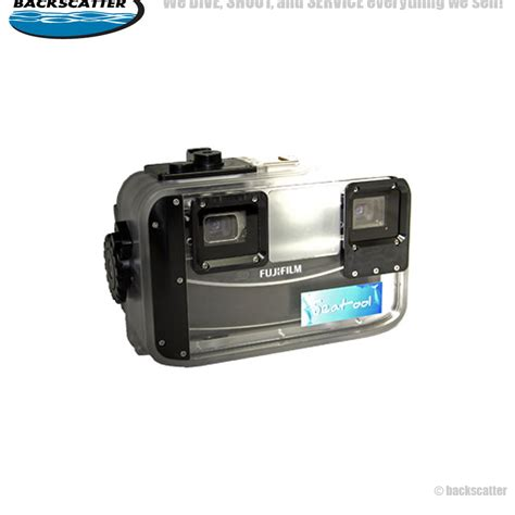 Fujifilm W1 seatool underwater housing fujifilm finepix real 3d w1