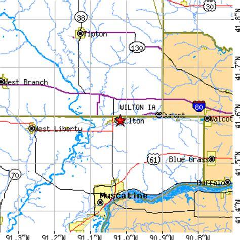 Wilton, Iowa (IA) ~ population data, races, housing & economy