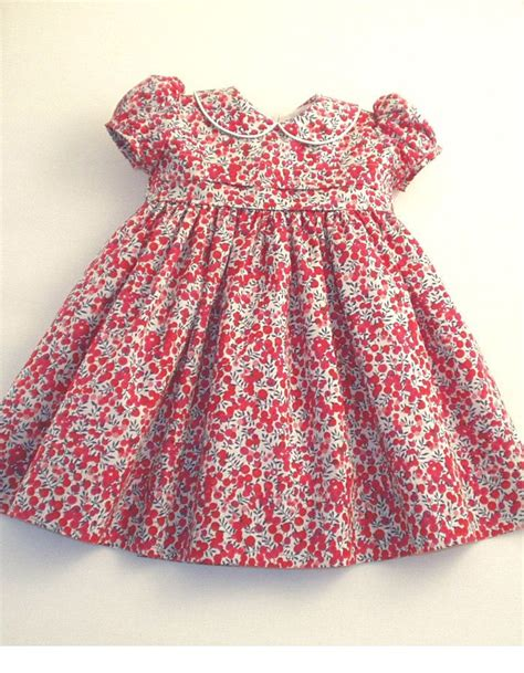 Dress Baby Twhat liberty tana lawn dress made in quot wiltshire berries quot print for a classic