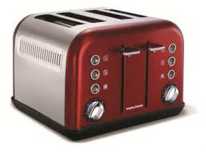 Red Toasters 4 Slice Accents 4 Slice Red Toaster Toasters Amp Sandwich Toasters
