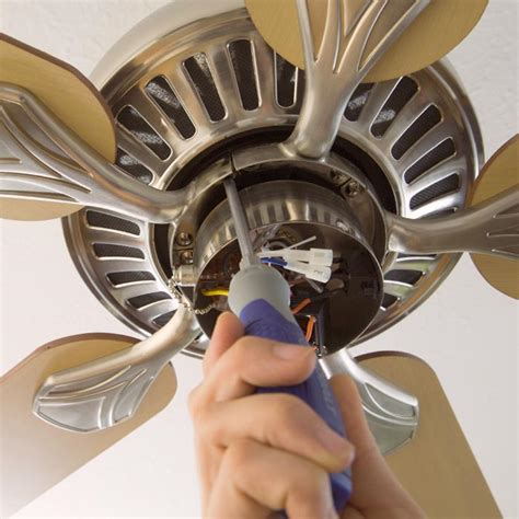 how to replace fan blades install or replace a ceiling fan