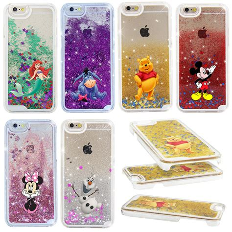 Liquid Glitter Cover Casing For Iphone 7 4 7 Tpu List Chrome new 2016 the eeyore glitter liquid protection cover for iphone 7 4 7inch iphone