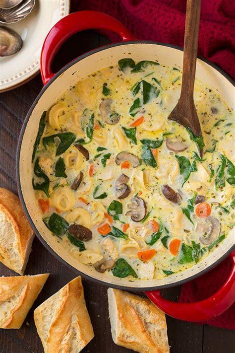 cocinar con espinaca cremosa de pollo espinacas y chi 241 ones sopa de