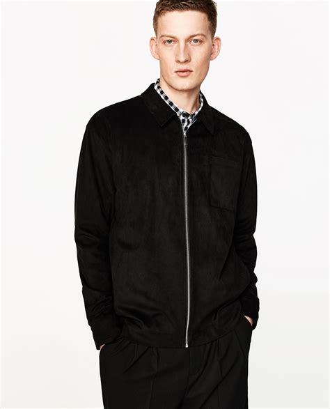 chaquetas de cuero para hombre zara chaquetas zara hombre chaquetas de moda para la