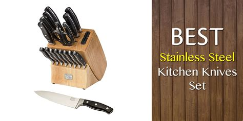 best stainless steel kitchen knives set reviews and guide