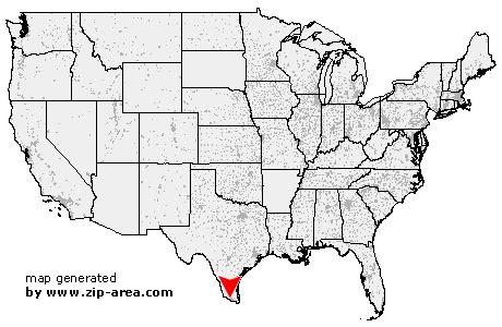 mcallen texas zip code map zip code mcallen texas
