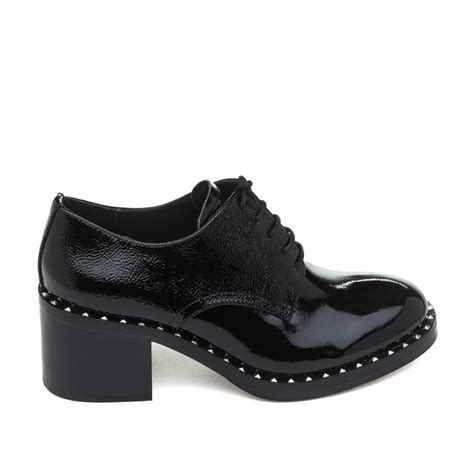 womens black patent leather oxford shoes ash womens shoes new collection style guru fashion