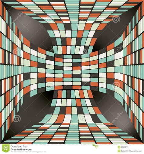 seamless ribbon pattern seamless pattern with 3d ribbon consisting stock image