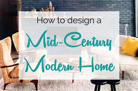 Accent Home Decor by Mid Century Modern Design Amp Decorating Guide Froy Blog