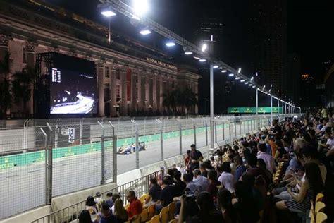 Tiket F1 Singapore Marina Bay Circuit Connaught Grandstand singapore f1 formula 1 race singapore grand prix
