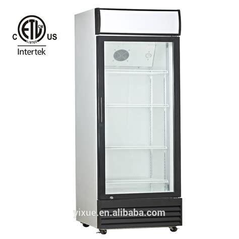 Commercial Upright Display Cooler Glass Door Refrigerator Commercial Glass Door Refrigerator Used