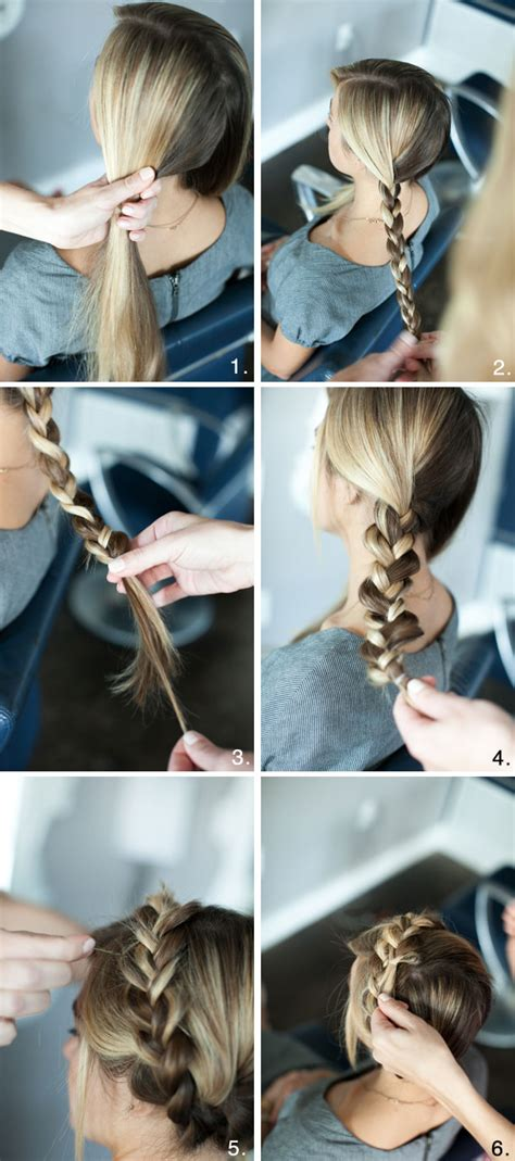 cool braiding step by step pretty simple braided crown camille styles