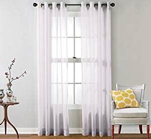 sheer curtains 108 inches long com hlc me 2 piece sheer window curtain grommet