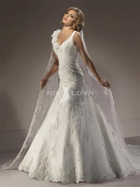 5 styles romantic wedding dresses