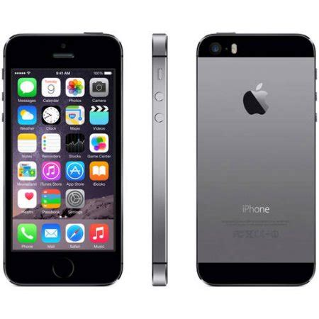 iphone 9 verizon b grade refurbished apple iphone 5s 16gb smartphone verizon gray walmart