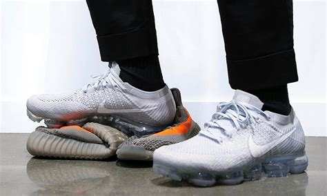 Original Bnib Nike Air Vapormax Flyknit Asphalt vapormax here s how are wearing nike s new sneaker