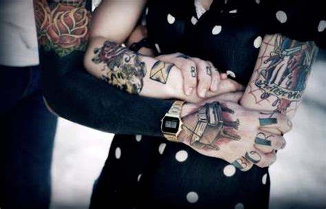 Tattoo Love Boy | boy girl hand love tattoo image 458990 on favim com