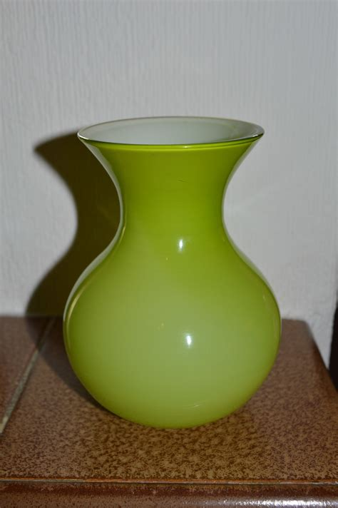 Small Green Vase by Small Green Glass Vase Collectors Weekly