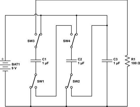 capacitor charge parallel discharge series capacitors in series discharge 28 images components capacitors discharging electrical