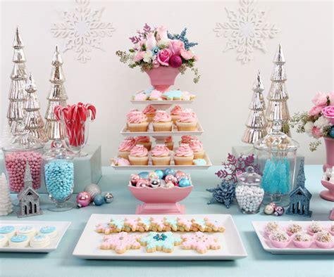 vintage pastel christmas dessert table 79 ideas