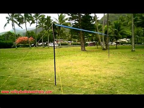 backyard net systems park sun tournament 179 outdoor volleyball net system