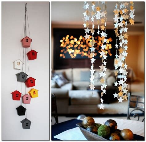 Handmade House Decorations - paper garlands home d 233 cor that makes you happier home