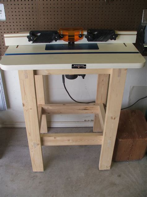 simple router table  denappy  lumberjockscom