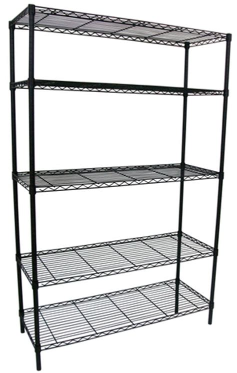 wire shelving lowes lowe s 5 tier black wire shelving unit 49 today only