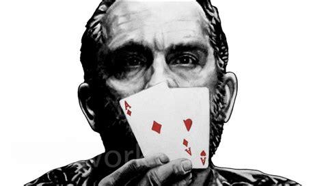 john malkovich poker rounders poker cards movie art poster teddy kgb john malkovich