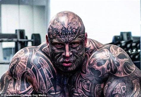 head to toe tattoo 20 weightlifter covered to toe in tattoos