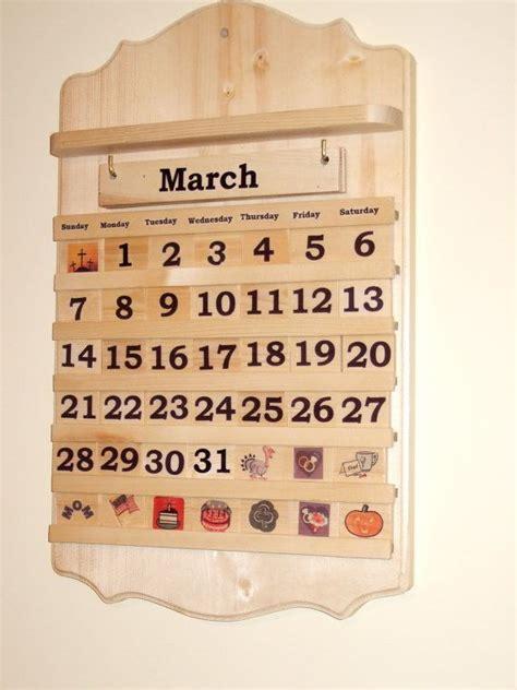 Calendar Wooden The 25 Best Ideas About Wooden Calendar On