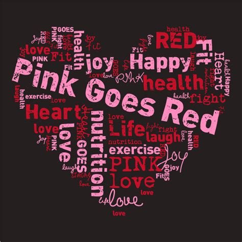 what goes good with pink pink goes red for heart health with alpha kappa alpha