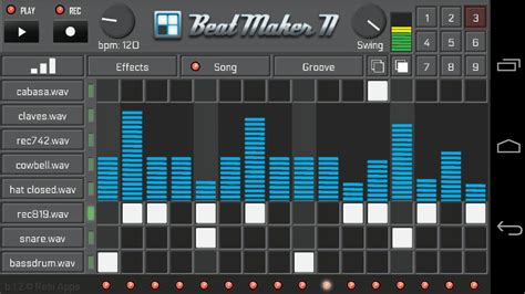 best beat app for android beat maker ii android apps on play
