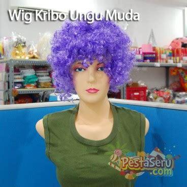 Pompom Kertas Xlpompom Kertas 30 Cmpompom Kertas Ungu wig kribo ungu muda pestaseru toko grosir perlengkapan pesta