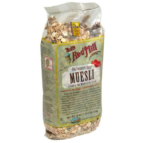 country style muesli bob s mill organic oat bran cereal pack of 4 8
