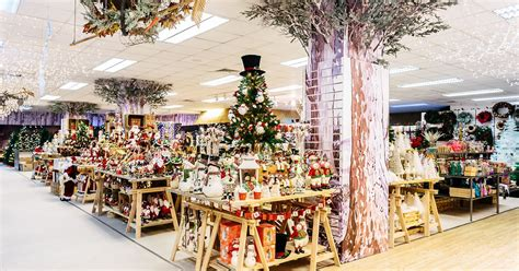 fenwick newcastle opens its christmas department feeling