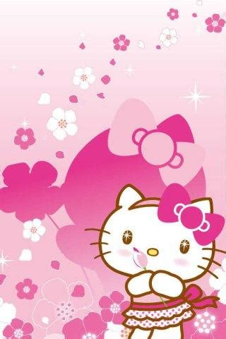 wallpaper hello kitty pink android hello kitty pink wallpapers android apps games on