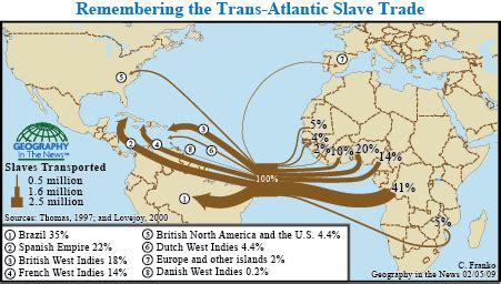 Todays News Brought To You From The National Enquirer by Geography In The News Trans Atlantic Trade