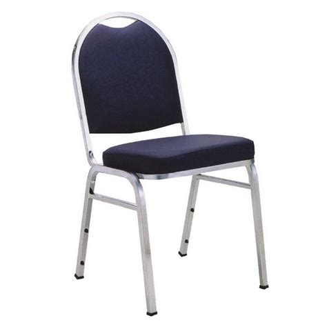 kfi seating armless padded stack chair standard fabric  padded stack chairs