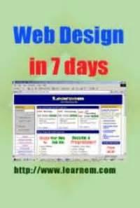web design tutorial in telugu web design in 7 days tutorial by siamak sarmady free
