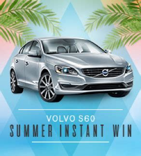 Sears Sweepstakes 2016 - sears shop your way volvo s60 summer sweepstakes sun sweeps