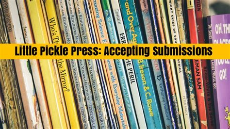 picture book publishers accepting submissions 187 pickle press now accepting book submissions