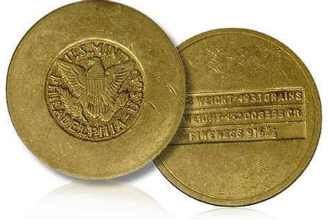 If Items Were Made From by Items Us Mint Gold Disks Made For Payments