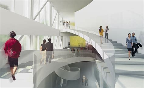 pavillon lassonde mnbaq museum by oma e architect