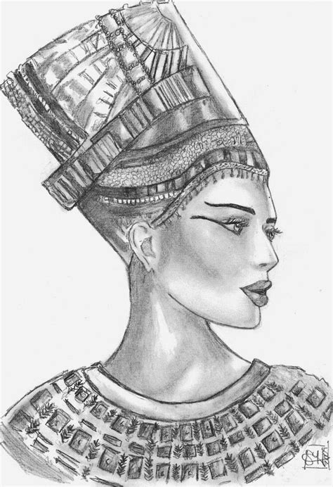 nubian queen tattoo ideas 25 best ideas about nefertiti tattoo on pinterest