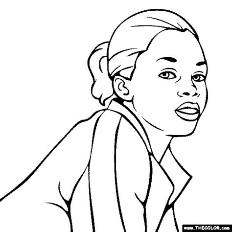 Gabby Douglas Coloring Pages Online Coloring Pages Starting With The Letter G