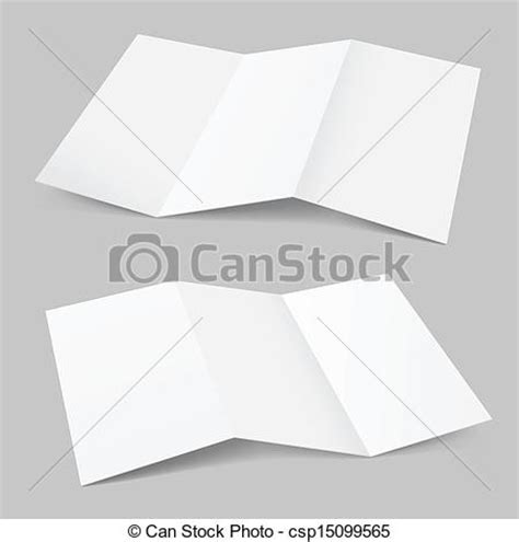 Paper Folds Graphic Design - clip vector of folded paper illustration on white