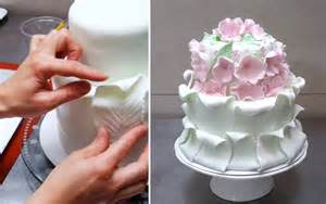 home design simple fondant cake decorating tutorial by
