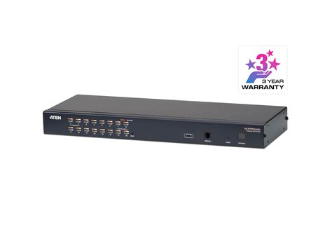 16 kvm switch 16 cat 5 kvm switch with chain kh1516a